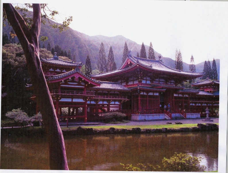 The Zen of the Valley of the Temples: Hawaii Oahu, Digital Download,  Japanese, photography