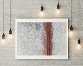Rust Lines I -  Fine Art Photo Print - Abstract Photography - Fine Art Print