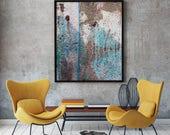 Blue Mix I - Newlyn Blues - Limited Edition -  Abstract Photography - Fine Art Print - Giclee - Cornwall - Coastal