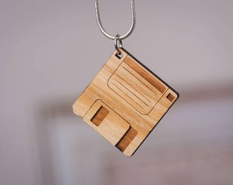 Floppy Disk pendant