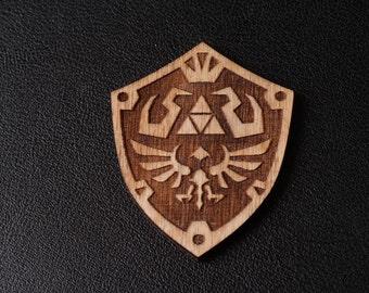 Legend of Zelda style hylian shield Badge