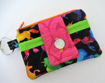 1d495f41bf4c Unicorn wallet | Etsy