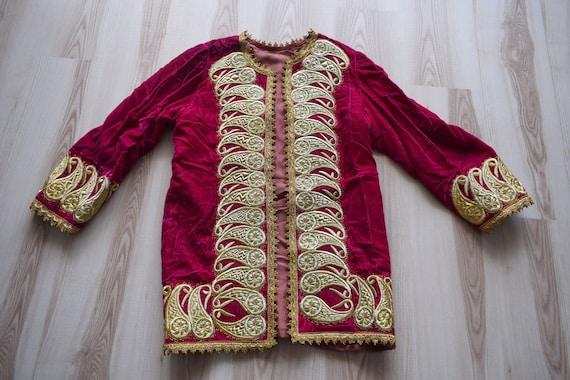 Turkoman short Kaftan vintage short kaftan handmad