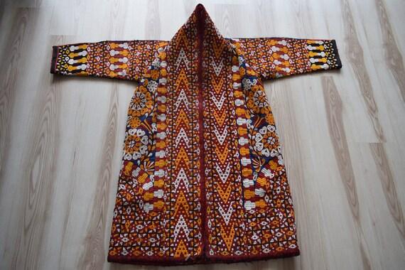 Turkoman Kaftan vintage kaftan handmade kaftan kaf