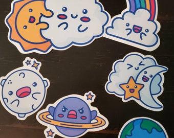 Super cute celestial wall stickers!