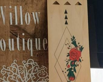 Natural Wood Veneer Bookmark