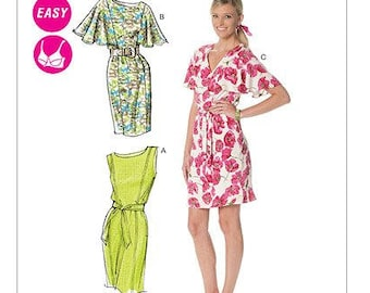 df3a8d30a6db McCall s M6277 Size 8-14 Laura Ashley Misses Lined Dress Sewing Pattern    Uncut FF