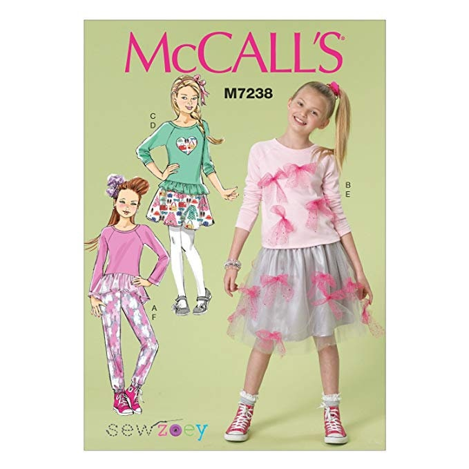 f2cf45554ba McCall s M7238 Size 7-14 or 10.5 16.5 Children s