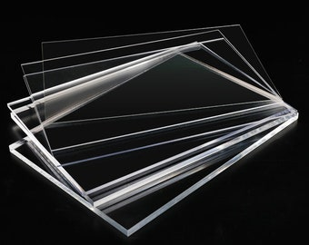 Acrylic Sheet Perspex Plexiglass Sheet Clear Plastic Sheet A1 A2 A3 A4 A5 A6