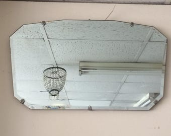 1940/50s decorative mirror 51