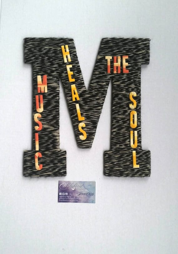 Music Art Music Quotes Wall Art Wall Hangings Large Wall Etsy