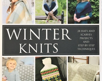 Winter Knits Book.  From blankets to hats and scarves to cardigans, beautiful patterns for every style of knit to make!