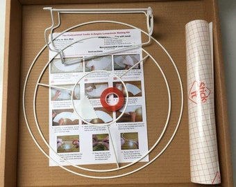 35cm Empire Lampshade Making Kit: make a professional quality lampshade to suit your decor.