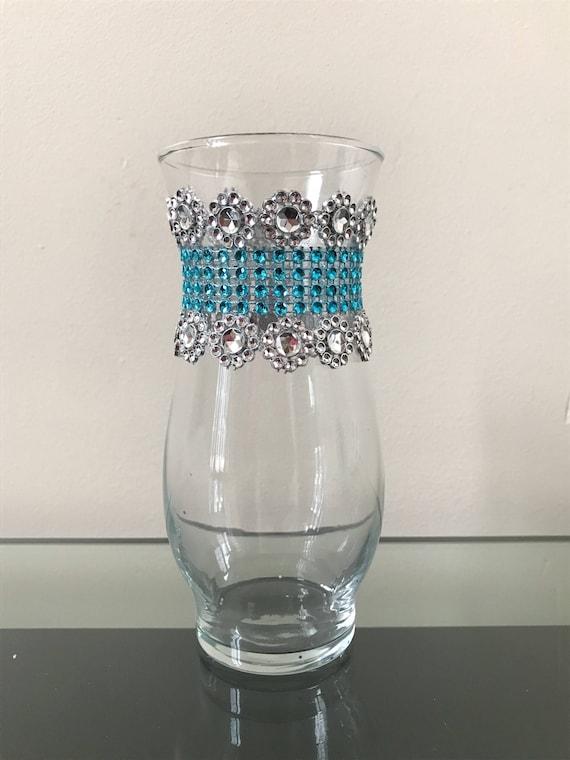 Bling Rhinestone Wedding Centerpiece Bling Vases Centerpiece Etsy