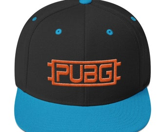 97db97badf9 Pubg Hat Winner PlayerUnknown s Battlegrounds Gamers Snapback Cap Gaming  gift Orange logo