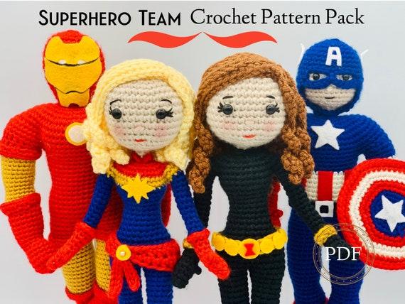 Amigurumi Superheroes | Lis Crafts | 427x570