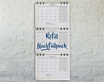 Refill for the 3-Month-Calendar