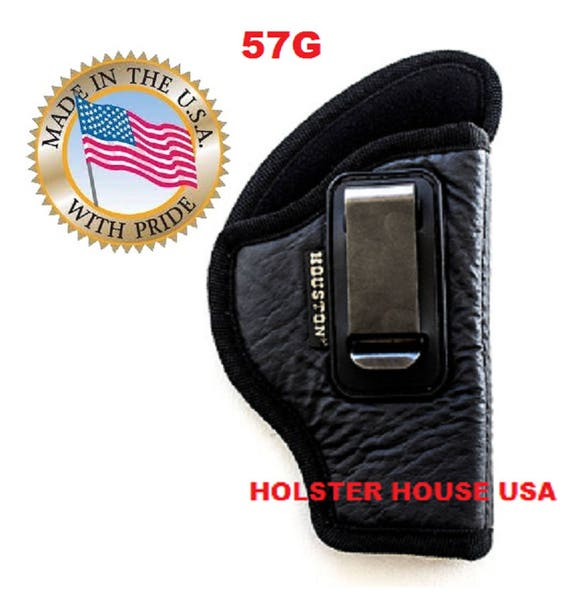 NEW Line! Eco- Leather IWB Gun Holster Ruger Sr9c, XD E,XDs 4 0, S+W M+Pc,  H+Kc, S+W Sd Ve 9/40, Shield Walters PK380/Pps/Ccp, Size 57G
