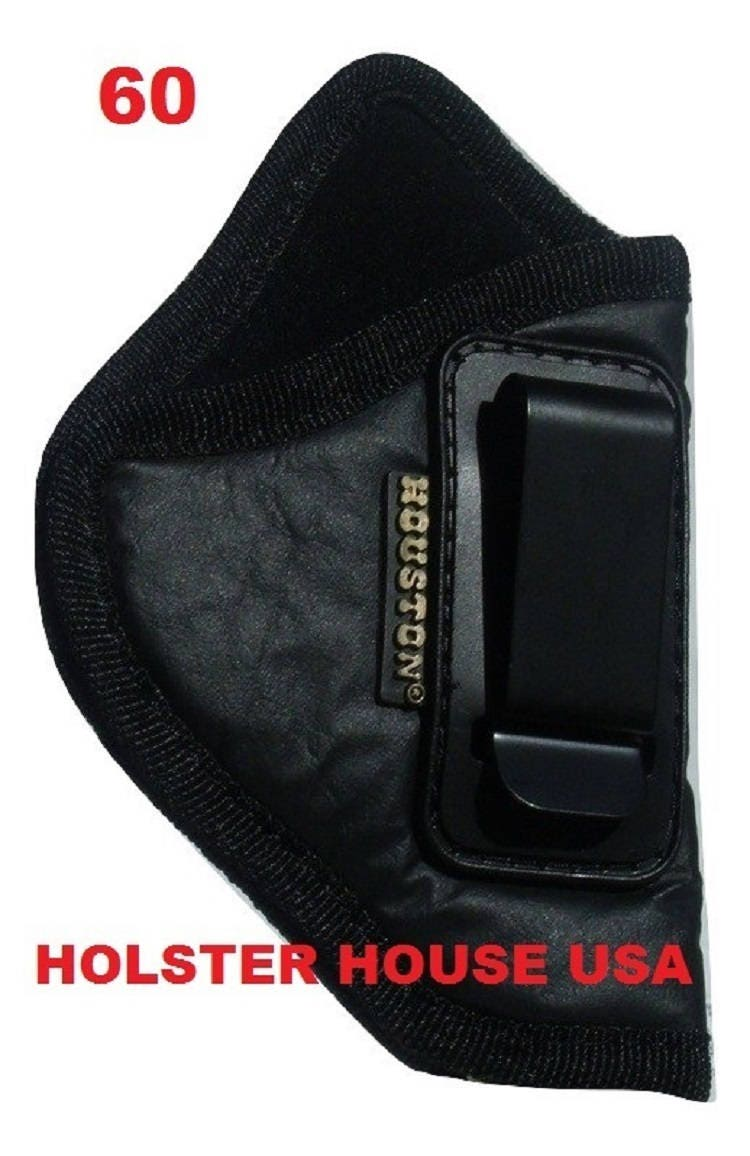 Inside the Waistband Gun Holster IWB Eco Leather Ruger LCR, Rossi