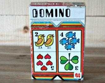 1978 Domino kids game, 70s games, Boardgames, Jumbo Games, 70s kids, Kids gift, Christmas gift, Toddler game, Vintage toy