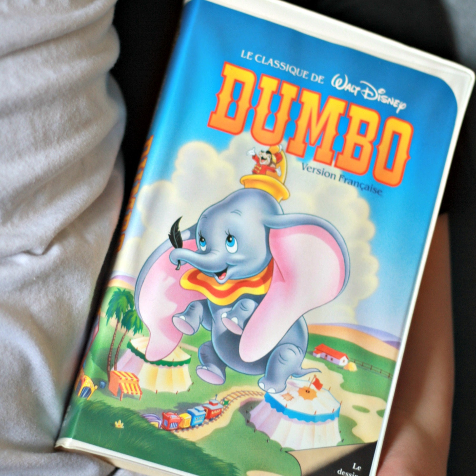 Dumbo movie FRENCH VHS Black Diamond Dumbo Black Diamond | Etsy
