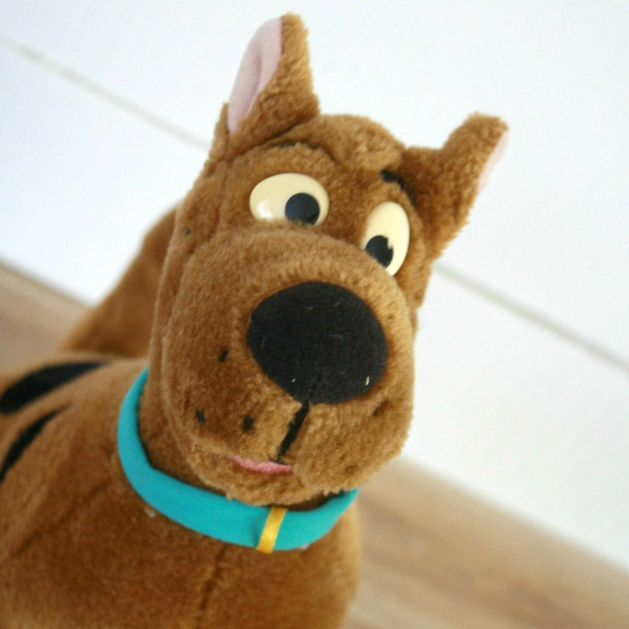 Peluche scooby doo 1990 chien peluche jouet scooby doo etsy - Jouets scooby doo ...