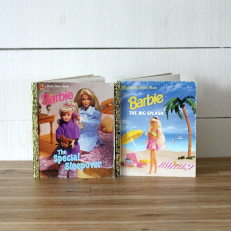 b67fb8674 90s Barbie books set of 2 Retro BarbieEnglish book The big