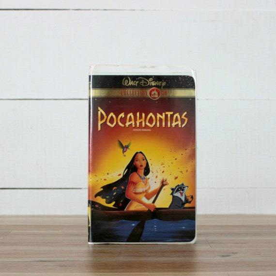 Pocahontas Gold Edition French Vhs John Smith Disney Etsy