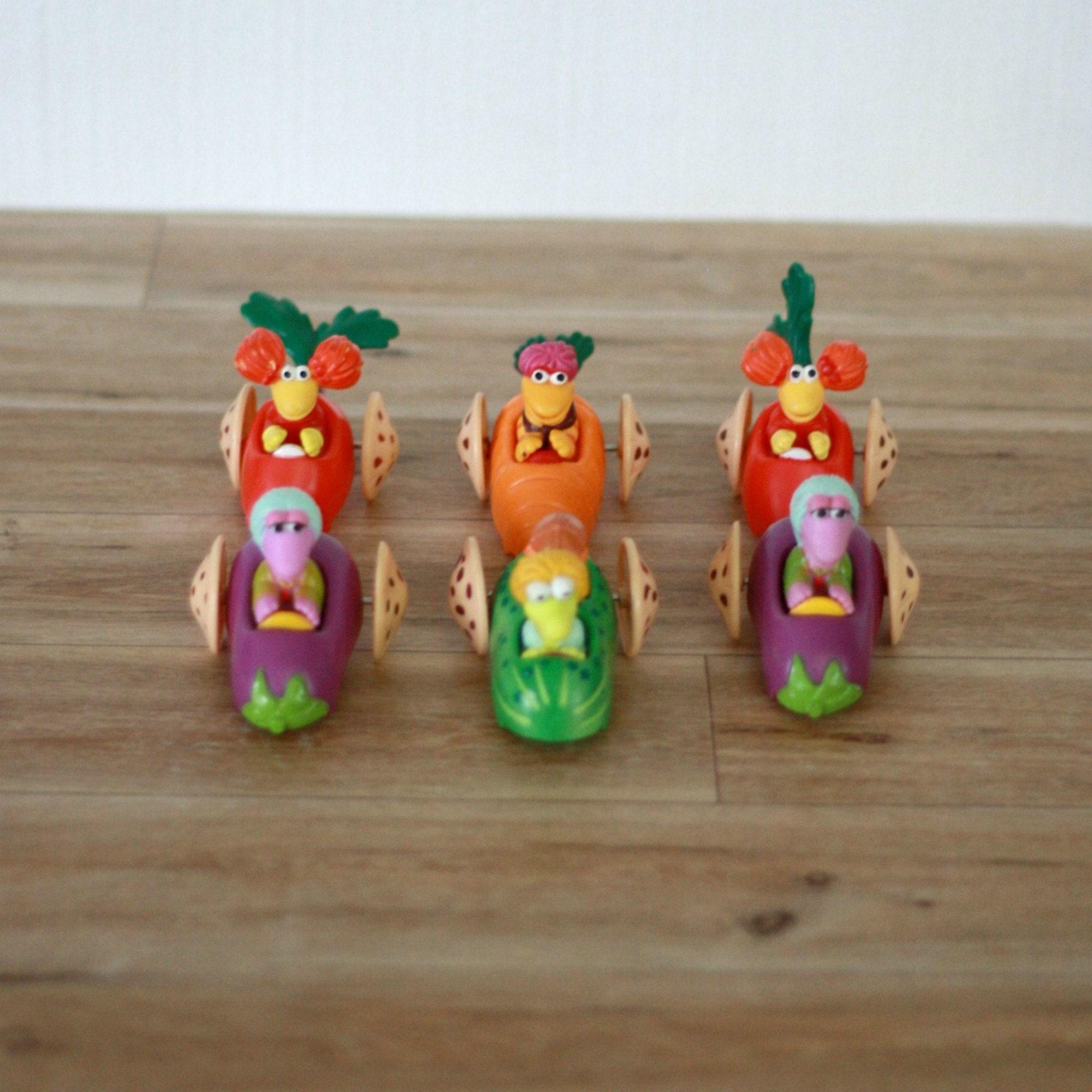 6 Figuren Fraggles Rock 1988 80 Spielzeug Auto jede Menge | Etsy