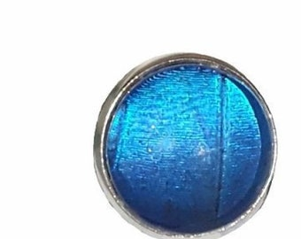 Real Handmade Butterfly Wing Ring -Blue Morpho- Real Butterfly Wing Jewelry