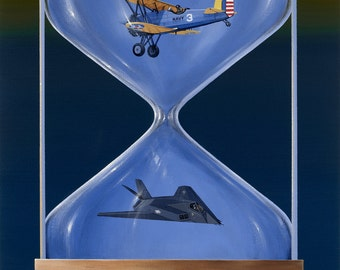 """Tim Wistrom Mini Print """"Time"""""""