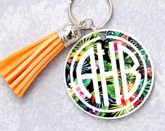 Monogram Key chain, key chains, personalized keychain, Key chain for Women, Monogram Keychain, Personalized Gift, Diaper Bag key, Backpack