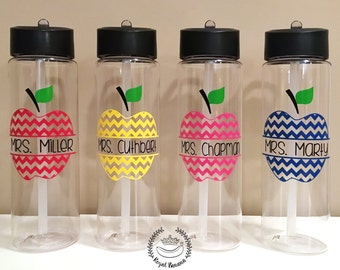 Personalized Teacher Water Bottle, Personalized Teacher Gift, Teacher Gifts, End of the Year Gift