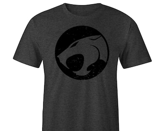 Thundercats Distressed Blacked out Logo T-Shirt e09cac9f49be
