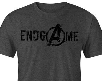 bb3193f78 EndGame Avengers logo T-shirt, Avengers Infinity War T-shirt, Avenger  T-shirt Avengers Tees, Captain America tee,Iron manTee