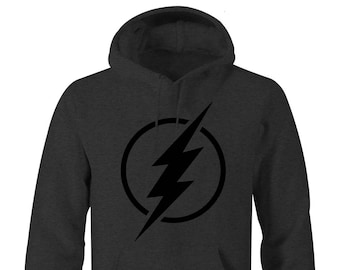562b32f74fa1 Flash Blacked Out Hoodie