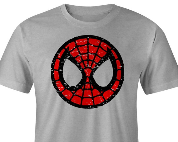 Youth Spiderman T Shirt Spiderman Tee Spiderman Logo Etsy