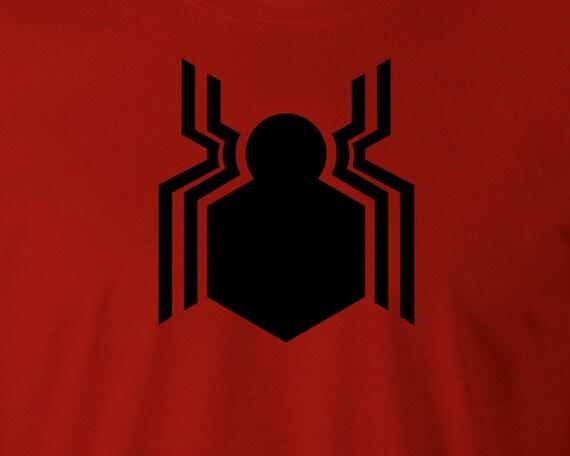 New Spiderman Logo T Shirt New Spiderman Logo Tee Spiderman Etsy