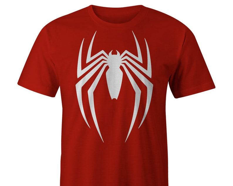 5b67cf8f9fe4a4 Spider-man Marvel T-shirt Spiderman Tee Spiderman Logo   Etsy