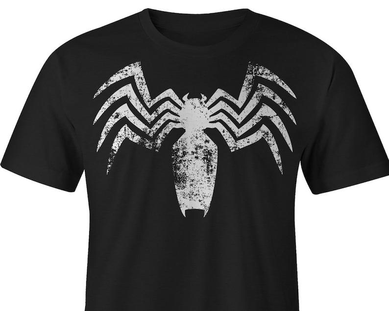 935544ddc433a1 Venom T-Shirt Venom Marvel Tee Spiderman T-shirt Venom   Etsy