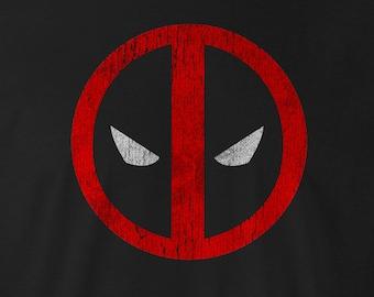 Deadpool Tee, Deadpool Shirt, Deadpool Tees, Deadpool Shirts, vintage Deadpool, Marvel DeadPool, Deadpool, Deadpool logo Tee, Deadpool Logo