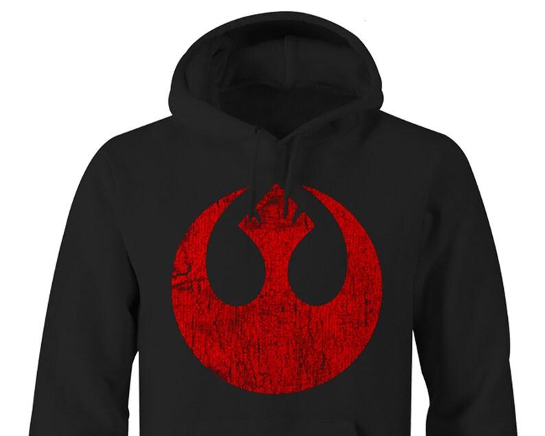 45e5c78622d Star Wars Rebel Symbol Hoodies Star Wars Hoodies Star Wars