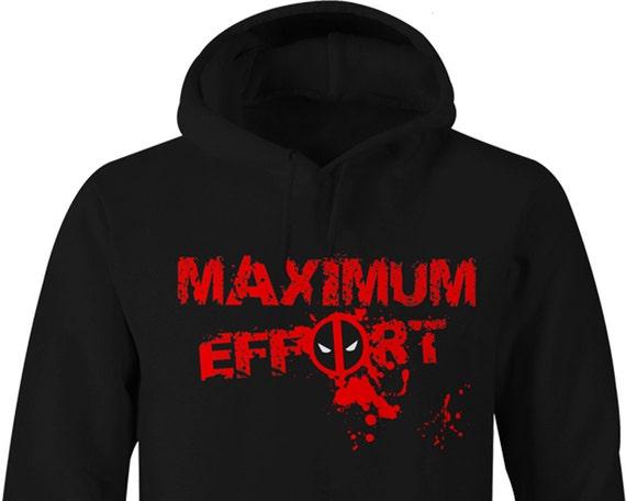 Deadpool hoodie   Etsy