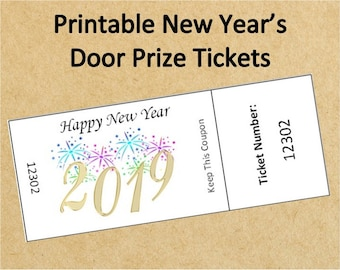 printable bridal shower door prize ticketsup to 40 etsy