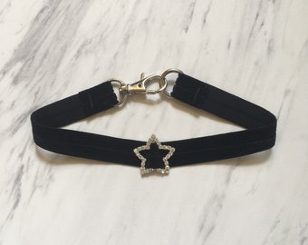 Star Rhinestone Chokers - Limited Edition!