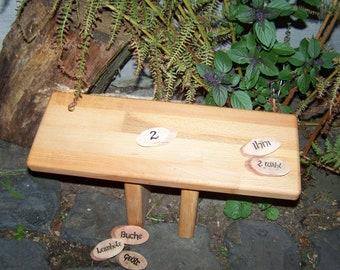 meditation bench / meditation settle - seiza yoga bench - prayer stool   Ihni   BEECH WOOD   laminated wood   2nd CHOICE   (bitcoin accept)