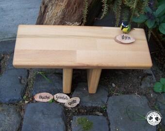 meditation bench / meditation settle - seiza / yoga bench - prayer stool  I  Ihni  I  BEECH WOOD  I  laminated wood I (bitcoin accepted)
