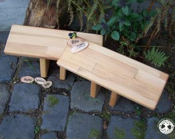YOGA SET   2 meditation bench -  seiza / yoga bank - prayer stool  I  Ihni  I  WOOD  I laminated wood I (bitcoin accepted)