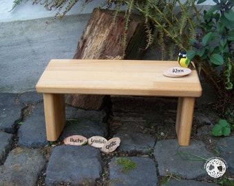 meditation bench / meditation settle - seiza / yoga bench - prayer stool  I  Ahni  I  BEECH WOOD  I  laminated wood I (bitcoin accepted)
