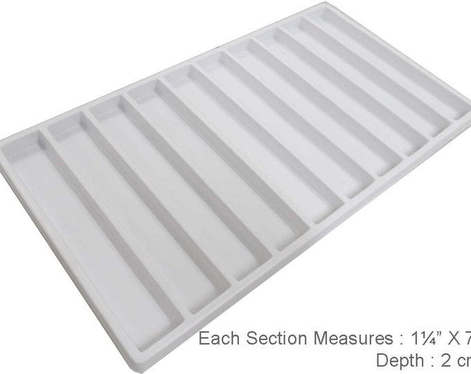 White Plastic Insert With 10 Sections TJ05-24100-Z02